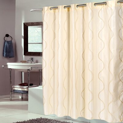 Swirl Fabric Shower Curtain