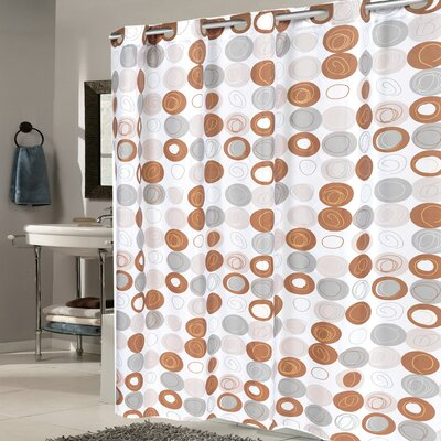 Modern Fabric Shower Curtain
