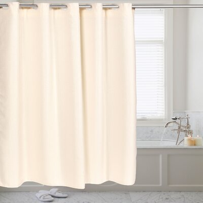 Shower Curtain Color: Ivory
