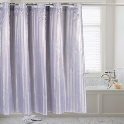 Shower Curtain Color: Pewter