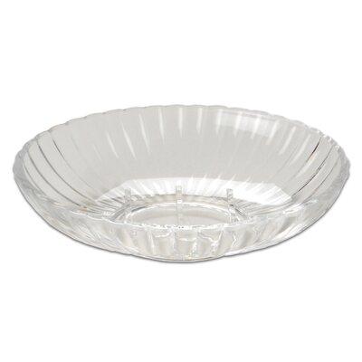 Ribbed Acrylic Soap Dish Color: Clear BAASR-SD-26-SC