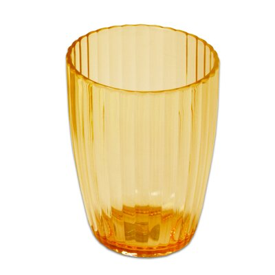 Ribbed Acrylic Tumbler Color: Orange BAAOR-TU-72-ORG