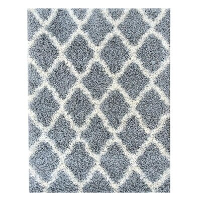Cozy Gray Indoor/Outdoor Area Rug Rug Size: 33 x 47