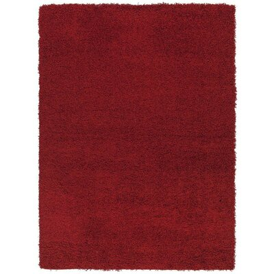 Cozy Red Indoor/Outdoor Area Rug Rug Size: 67 x 93