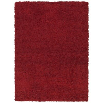 Cozy Red Indoor/Outdoor Area Rug Rug Size: 5 x 7