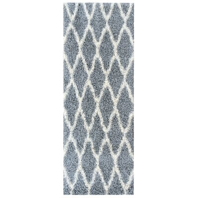 Cozy Gray Indoor/Outdoor Area Rug Rug Size: Runner 27 x 8