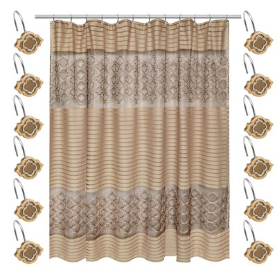 Medallion Shower Curtain Set
