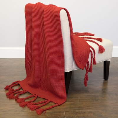 Luxurious Throw Color: Red