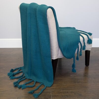 Luxurious Throw Color: Teal