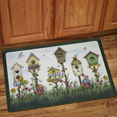 Birdhouse Anti-Fatigue Kitchen Mat