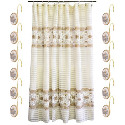 Savoy Shower Curtain Set