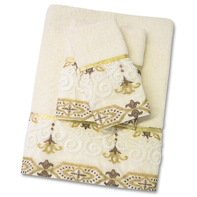 Savoy 3 Piece Towel Set