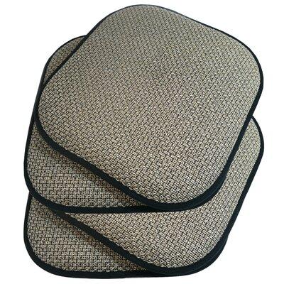 Memory Foam Dining Chair Cushion Fabric: Beige