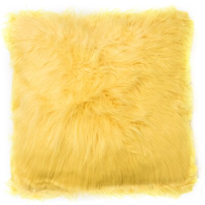Decorative Throw Pillow Color: Gold