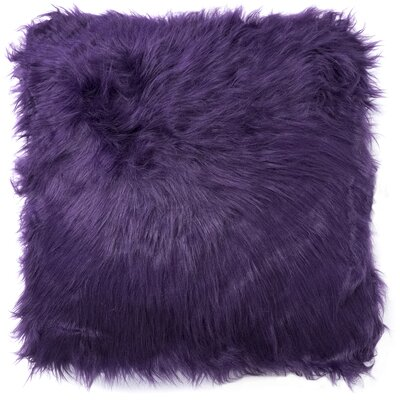 Decorative Throw Pillow Color: Purple