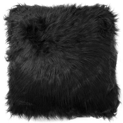 Decorative Throw Pillow Color: Black