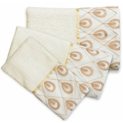 Seraphina 3-Piece Towel Set SERA-TOWEL-016