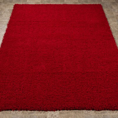 Cozy Red Indoor/Outdoor Area Rug Rug Size: 710 x 910