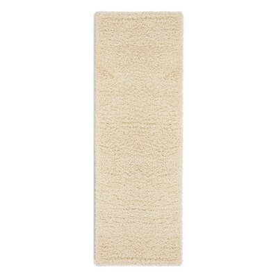 Cozy Cream Indoor/Outdoor Area Rug Rug Size: Runner 27 x 8