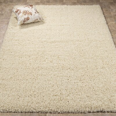 Cream Area Rug Rug Size: 5 x 7