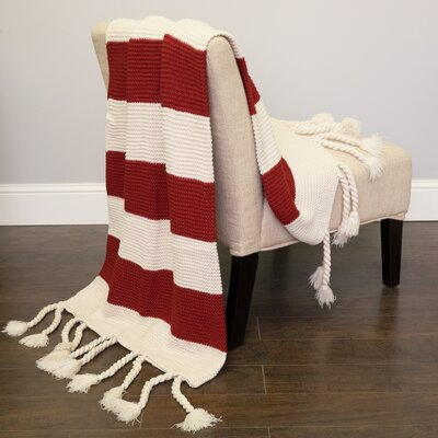 Luxurious Throw Blanket Color: Red
