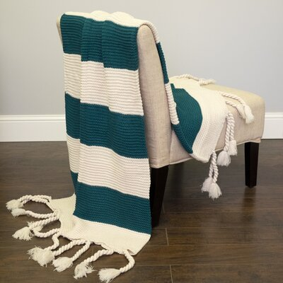 Luxurious Throw Blanket Color: Teal