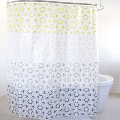 Lael PEVA Shower Curtain