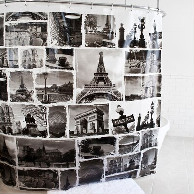 Crompton PEVA Shower Curtain
