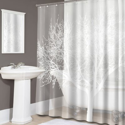 Hadleigh Tree Print PEVA Shower Curtain