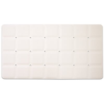 Anti-Slip Shower Mat Color: White