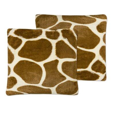 Erick Square Plush Throw Pillow