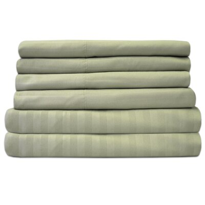 Wasserhund 1500 Thread Count Sheet Set Size: Twin, Color: Sage