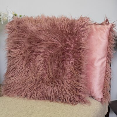 Robins Decorative Throw Pillow Color: Rose