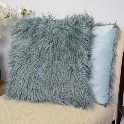 Robins Decorative Throw Pillow Color: Teal
