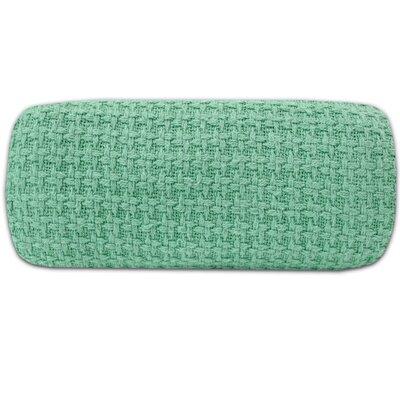 100% Cotton Blanket Size: Queen, Color: Aqua