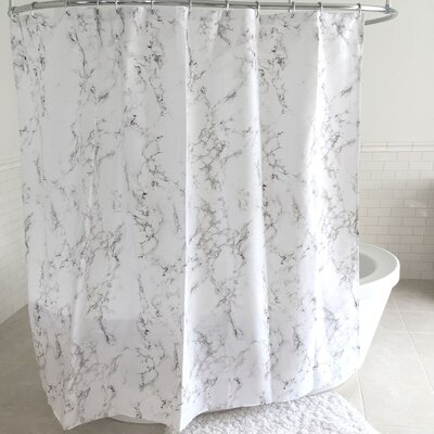 Baudelaire Polyester Shower Curtain