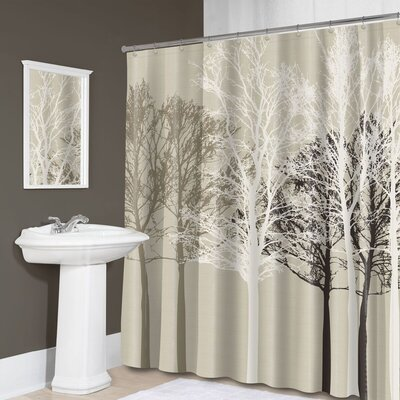 Cosmopolitan Polyester Shower Curtain