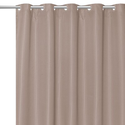Stamford Polyester Shower Curtain Color: Taupe
