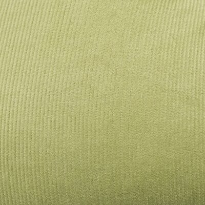 Mini Corduroy Cotton Dining Chair Cushion Fabric: Sage