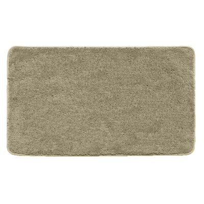 Kasten Plush Pile Solid Bathroom Bath Rug Color: Beige
