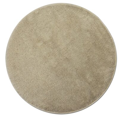 Kasten Plush Pile Bathroom Bath Rug Color: Beige