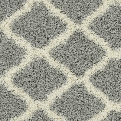 Dauphin Gray Indoor/Outdoor Area Rug Rug Size: 67 x 93