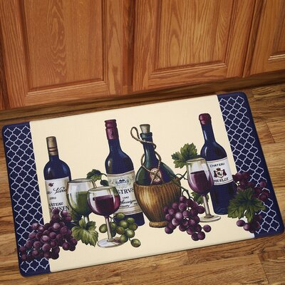 Chateau Wines Anti-Fatigue Kitchen Mat