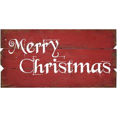 Scroll Merry Christmas Wall Décor