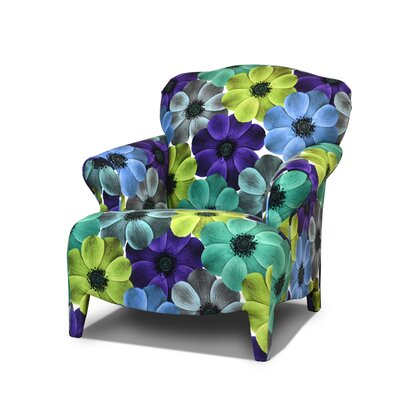 Madelyn Armchair Color: Bess Capri