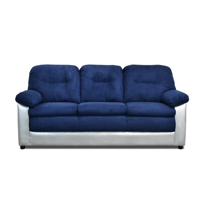 Claire Sofa Upholstery: Bulldozer Royal / Sizzle Silver