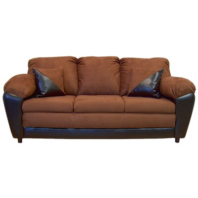 Brooklyn Sofa Upholstery: Mission Cinnamon / San Marin Chocolate