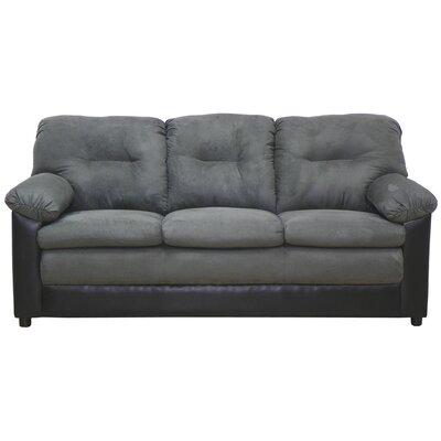 Claire Sofa Upholstery: Bulldozer Graphite / San Marino Black