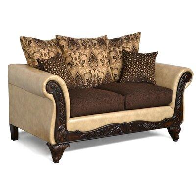 6100LSF122F133 DQPG1134 Piedmont Furniture Isabella Loveseat