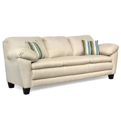 Curren Sofa Upholstery: Oscar Linen & Boho Celeste